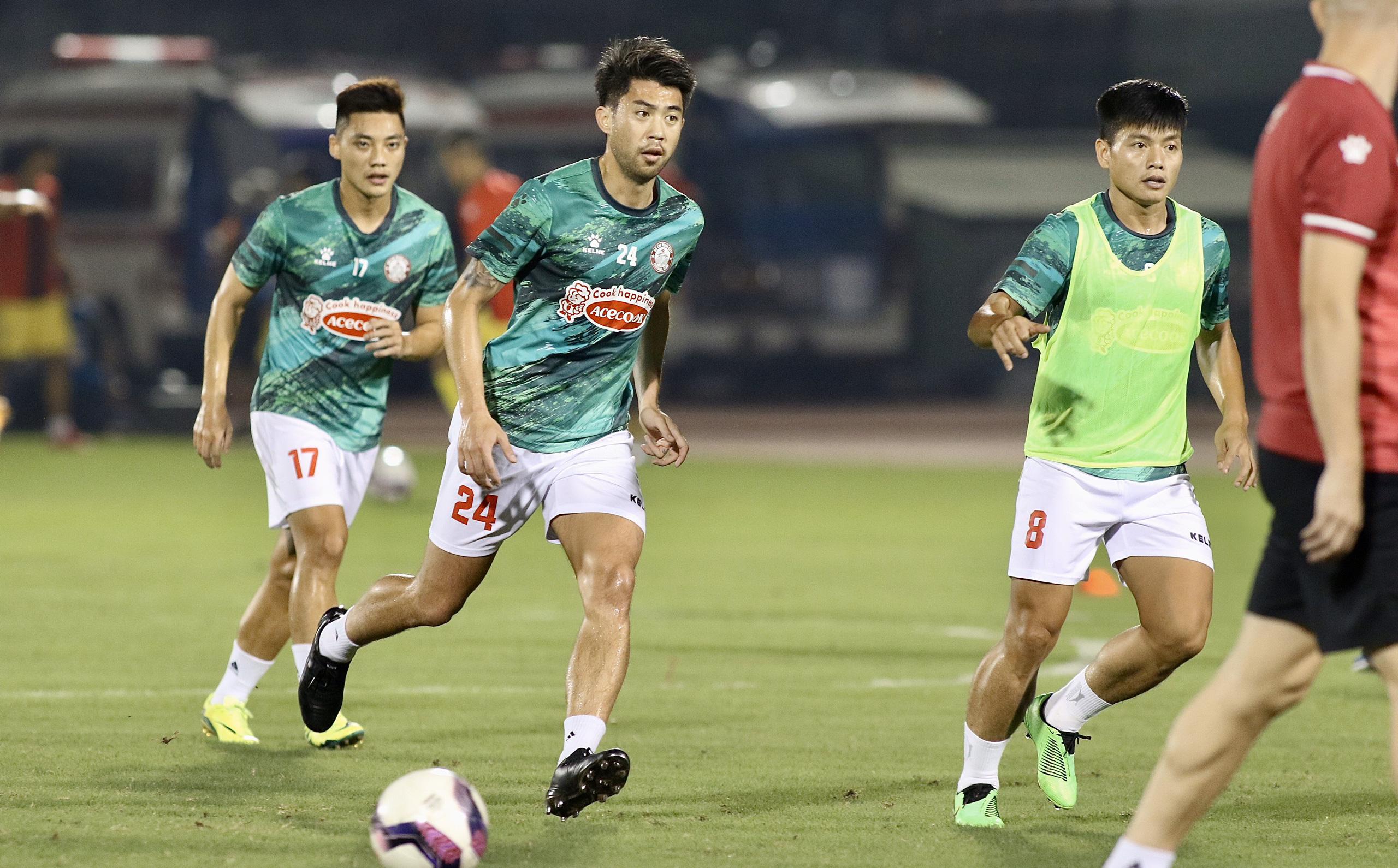 [TRỰC TIẾP] CLB TP.HCM vs Hồng Lĩnh Hà Tĩnh: Lee Nguyễn bất ngờ được đá chính