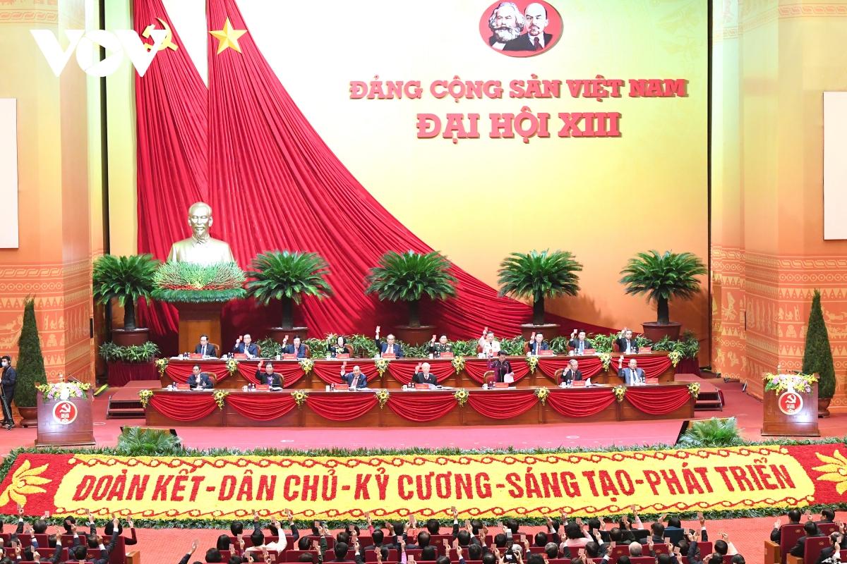 Hình ảnh phiên trù bị Đại hội đại biểu toàn quốc lần thứ XIII của Đảng - Ảnh 1.