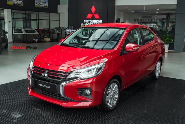 Loạt sedan hạng B giảm giá mạnh đón đầu Toyota Vios 2021 sắp ra mắt: Attrage và Ciaz bớt trước bạ, Accent hết kênh giá - Ảnh 3.