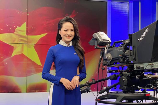 Nữ BTV xinh đẹp, dũng cảm vừa được phân công dẫn sóng Thời sự 19h của VTV là ai? - Ảnh 2.