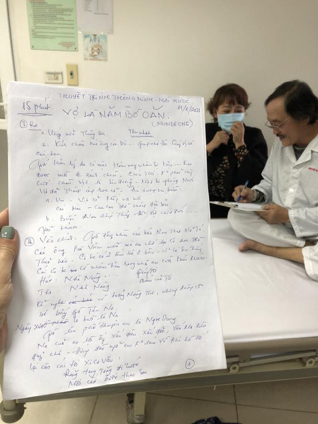Nghệ sĩ Giang còi: Tôi không bị ung thư nhé, chỉ viêm họng vài hôm là hết thôi - ảnh 2
