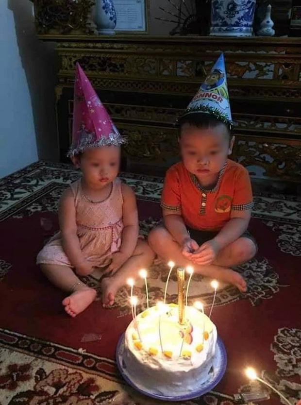 Chú tốt bụng làm bánh sinh nhật tặng cháu nhưng lại có gì đó 'sai sai' khiến 2 đứa trẻ cười nổi - ảnh 1