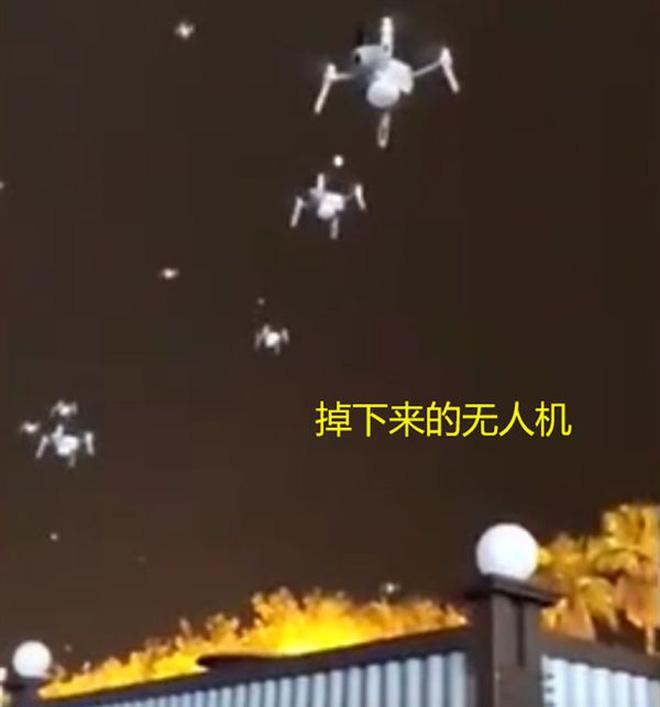Cả trăm chiếc drone đâm vào tòa nhà khi đang biểu diễn, dân mạng lại nghi ngờ Made in China - Ảnh 2.