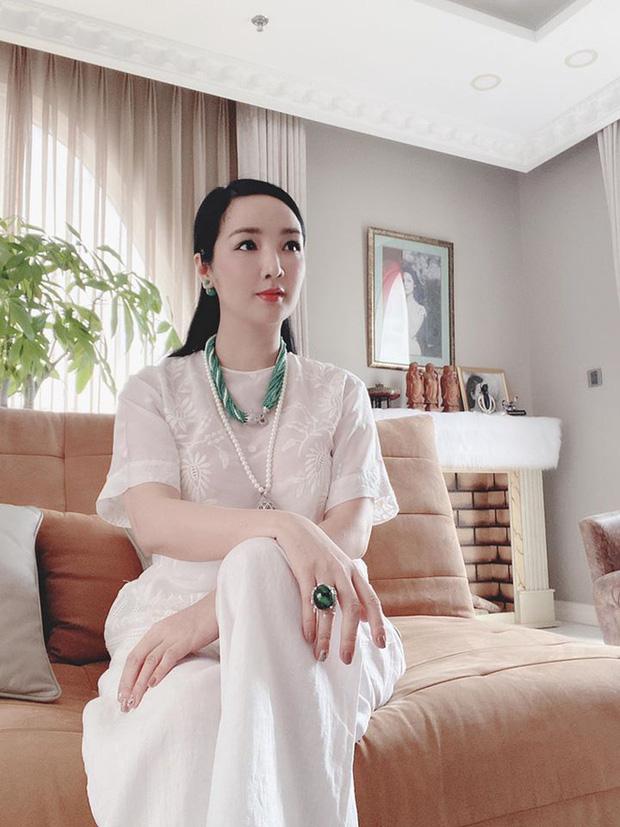 Cận cảnh biệt thự của Hoa hậu Giáng My: Sang chảnh như cung điện, phòng khách có sức chứa cả trăm người - ảnh 4