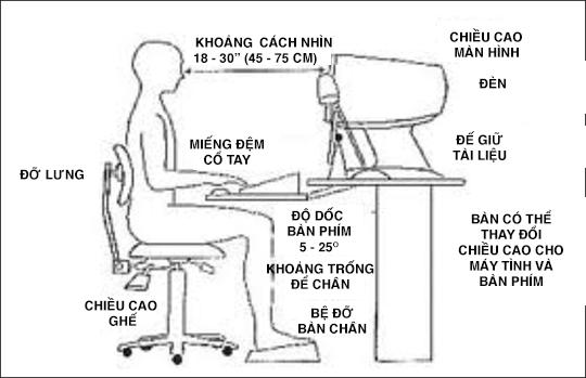 Lưu ý đặc biệt dành cho người làm việc văn phòng: Thời gian, tư thế nên làm để giảm bệnh tật - Ảnh 3.