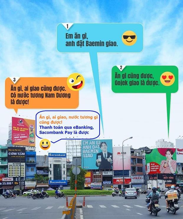 Hari Won - Trấn Thành trở thành tâm điểm đối đáp quảng cáo cực hài hước giữa Baemin và Gojek, nhưng cái tên thứ 3 xuất hiện mới khiến cộng đồng dậy sóng! - Ảnh 4.