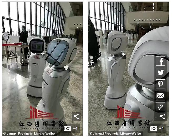 Đi thư viện, dân tình cười bò chứng kiến cảnh 2 con robot cãi nhau, con này chê con kia xấu tính - Ảnh 2.