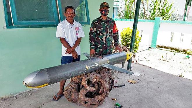 Bất ngờ thu giữ được vật thể lạ của Trung Quốc trên biển: Indonesia cảnh giác cao độ! - Ảnh 1.