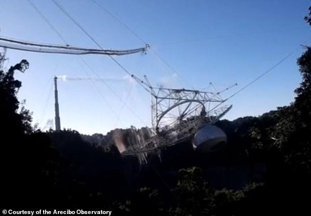 Puerto Rico chi 8 triệu USD để dựng lại đài thiên văn khổng lồ Arecibo - Ảnh 1.