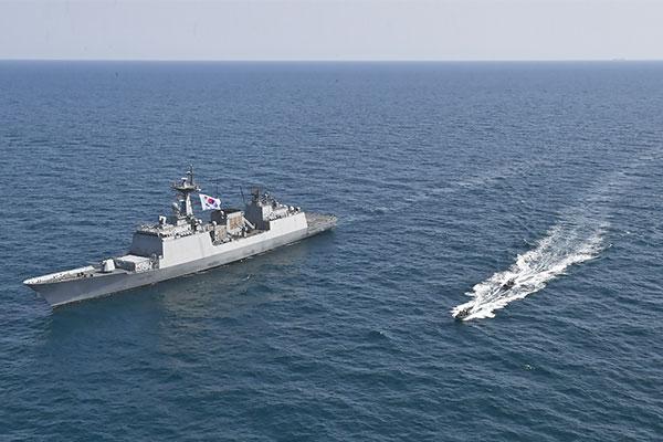 Khu trục hạm Hàn Quốc cấp tốc lên đường giải cứu tàu hàng bị Iran bắt giữ: Mỹ phát đi thông điệp khẩn! - Ảnh 1.