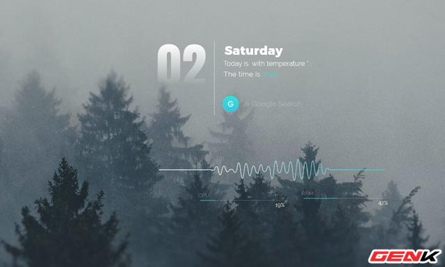 Setup một Windows 10 đầy tĩnh lặng và tối giản với bộ giao diện Amatical - Ảnh 1.