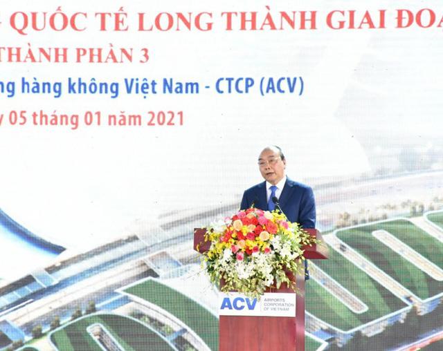 Chính thức khởi công xây dựng sân bay Long Thành - Ảnh 1.