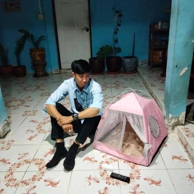 Mua lều cắm trại giá rẻ trên mạng, chàng trai giận tím người khi hàng về đến tay - Ảnh 1.