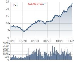 Công ty của ông Lê Phước Vũ vừa bán xong 27 triệu cổ phiếu HSG - Ảnh 1.