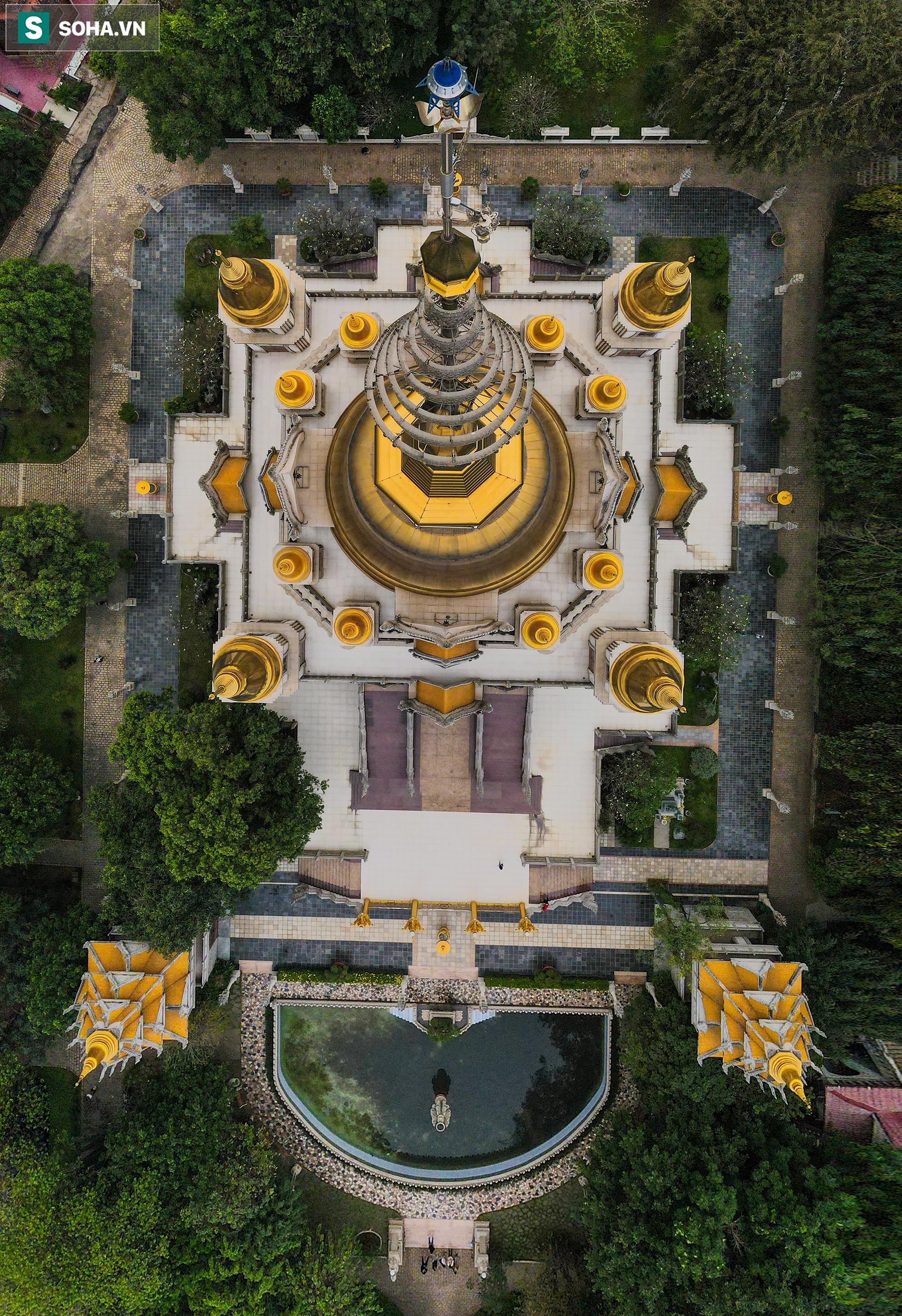 [Ảnh] Ngắm vẻ đẹp huyền bí của ngôi chùa lọt top đẹp nhất thế giới tọa lạc tại TP.Thủ Đức - Ảnh 14.