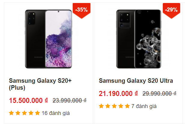 Giá Samsung Galaxy S20+ và S20 Ultra tiếp tục giảm mạnh, dọn đường đón Galaxy S21 - Ảnh 1.