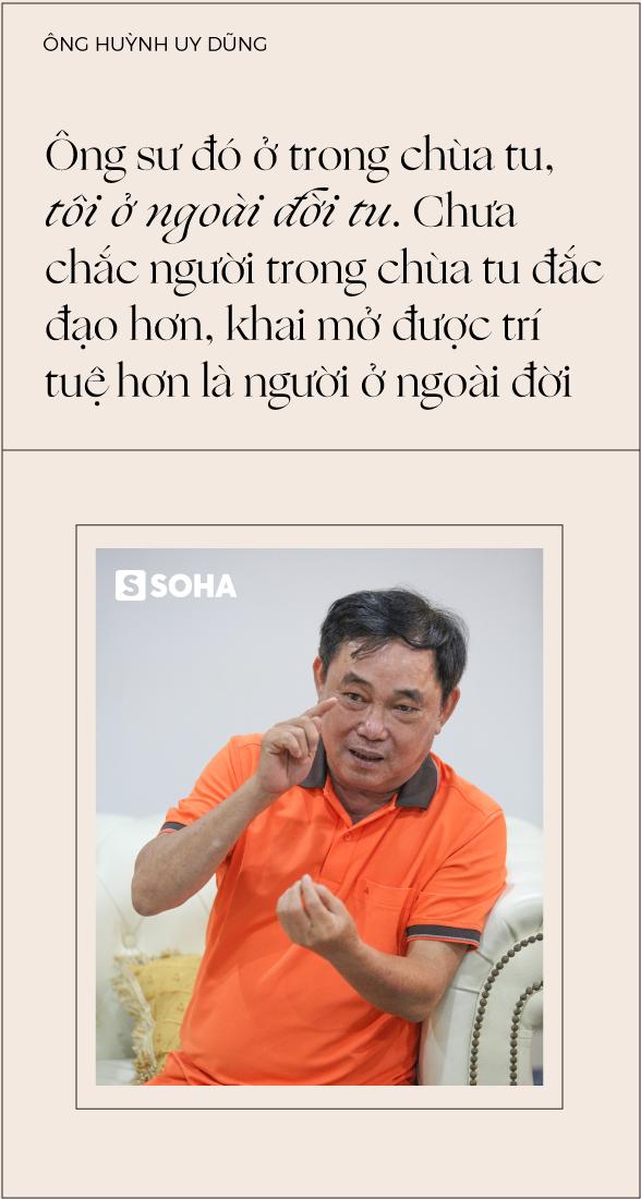 """Ông Huỳnh Uy Dũng: """"Sống được 30 năm nữa, mỗi năm tôi sẽ bán đi một vài tài sản, chia hết cho đời"""" - Ảnh 9."""