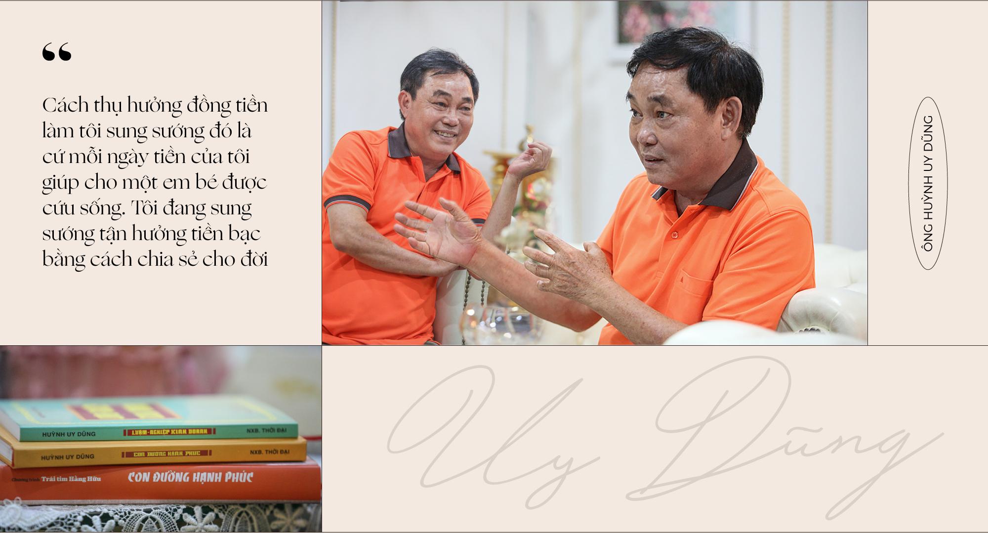 """Ông Huỳnh Uy Dũng: """"Sống được 30 năm nữa, mỗi năm tôi sẽ bán đi một vài tài sản, chia hết cho đời"""" - Ảnh 13."""