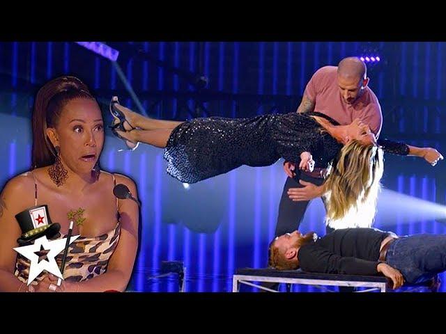Ảo thuật gia trẻ tuổi khiến siêu mẫu Heidi Klum bay lơ lửng trên sân khấu  - Ảnh 1.