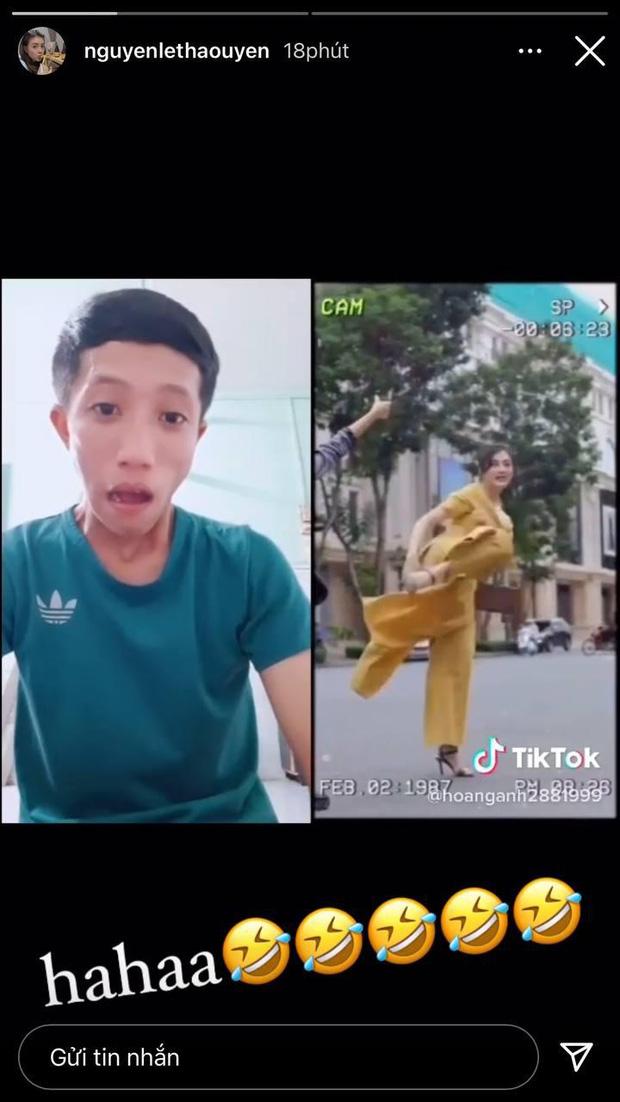 Biểu cảm đứng hình của thanh niên khi thấy hot girl đi đường quyền, đai đen Taekwondo đâu để làm cảnh - Ảnh 3.