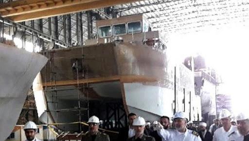Báo Mỹ: Tàu chuyên dụng của Iran lộ diện - thiết kế đặc biệt của các chiến hạm tương lai! - Ảnh 1.