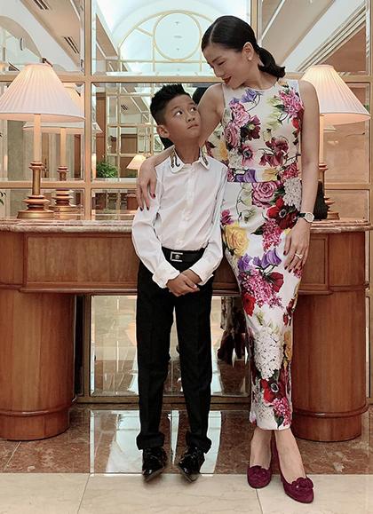 Lệ Quyên tiết lộ cách dạy con trai 10 tuổi sau khi li hôn chồng đại gia - Ảnh 3.
