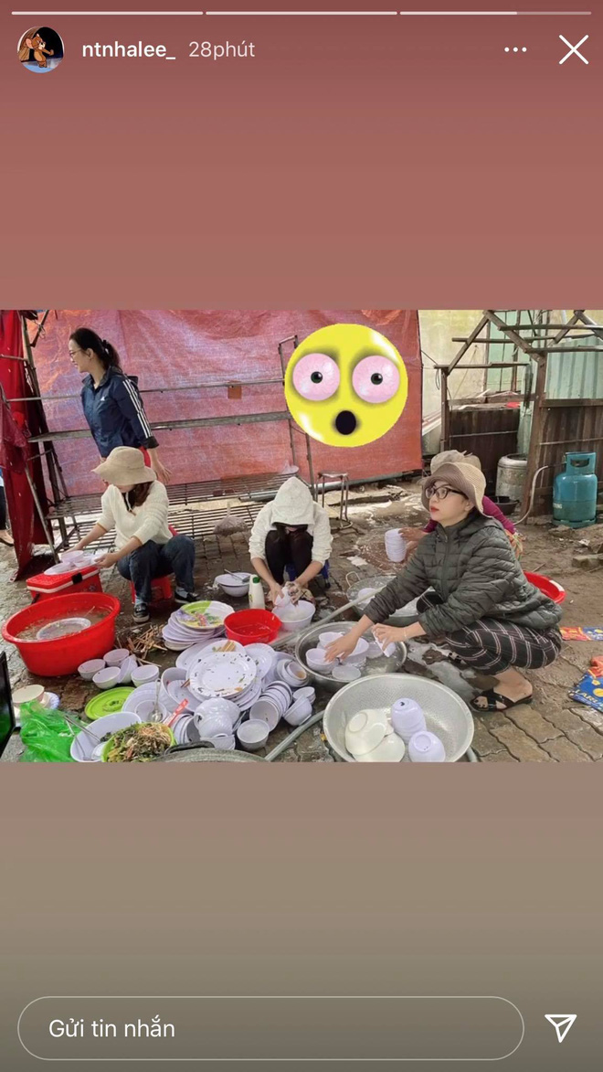 Nhật Lê lên đồ đi quẩy vs lúc ở nhà rửa bát: 'Biến hình' cực gắt nhưng may quá vẫn xinh! - ảnh 2