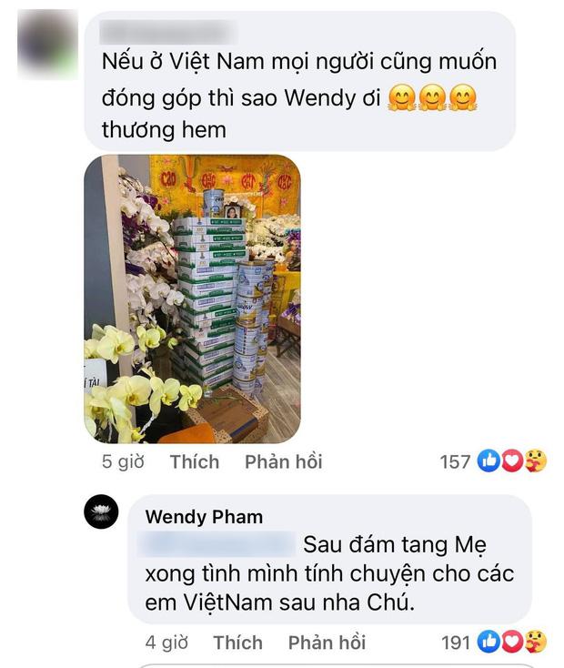 Sau tang lễ của mẹ ở Mỹ, đây là lời hứa của con gái ruột ca sĩ Phi Nhung dành cho 23 người em nuôi tại Việt Nam? - Ảnh 1.