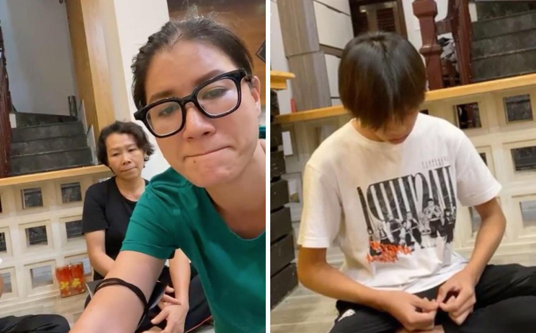Nửa đêm, Trang Trần tới tận nhà cố ca sĩ Phi Nhung livestream hỏi Hồ Văn Cường: Có nhờ ai đòi tiền hộ không?