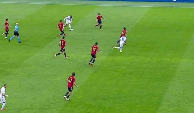 Mbappe ghi bàn thắng ma, Pháp đánh bại Tây Ban Nha để giành ngôi vô địch châu Âu - Ảnh 4.