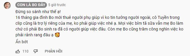 Bị mỉa mai làm mẹ thế này sướng nhỉ, hot mom Hòa Minzy đáp trả thẳng thắn: Mẹ Bo cũng không rảnh rang đâu! - Ảnh 3.