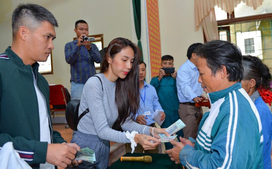 Hà Tĩnh báo cáo số liệu thế nào lên Bộ Công an việc từ thiện của Thủy Tiên?