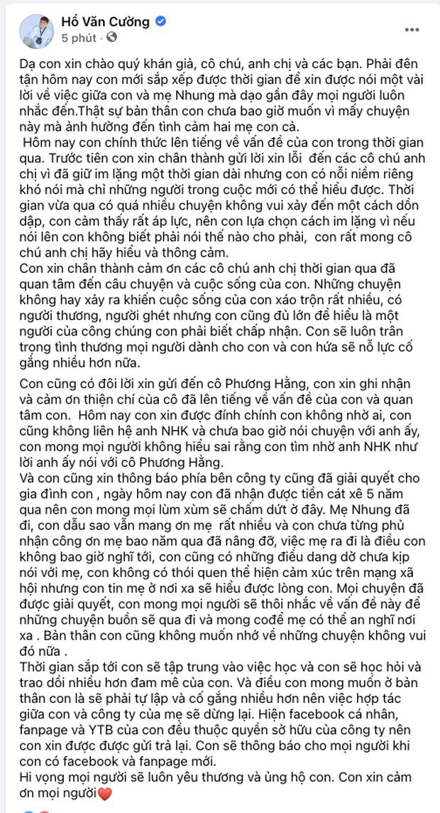 Khi các ca sĩ rời công ty quản lý của ba mẹ nuôi: Phương Mỹ Chi êm đẹp với Quang Lê, 2 người con nuôi của cố NS Phi Nhung đối lập hoàn toàn - Ảnh 26.