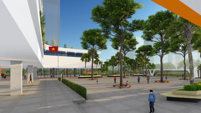 Trường cấp 2 ở Hà Nội đang khiến phụ huynh xôn xao: Công lập bình thường nhưng quá đẹp, hoành tráng không thua trường tư - Ảnh 6.
