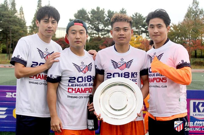 Cựu tiền đạo U23 Việt Nam chia tay V.League, chuẩn bị sang Hàn Quốc thi đấu lần thứ hai? - Ảnh 1.