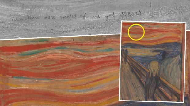 """Phóng to bức tranh kiệt tác """"Tiếng thét"""", hậu thế phát hiện chi tiết ẩn điên rồ mà vô cùng thú vị, mất hơn 100 năm mới giải mã được hoàn toàn - Ảnh 3."""