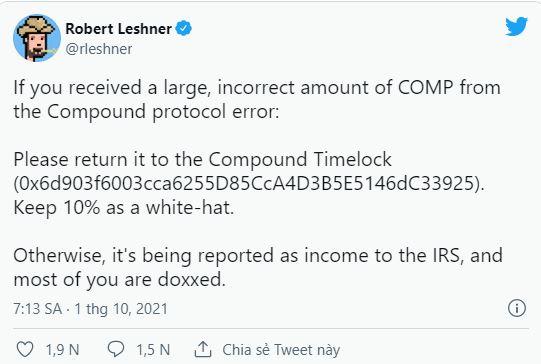 Nền tảng tiền điện tử gặp lỗi kỹ thuật, 90 triệu USD bất ngờ rơi vào túi người dùng - Ảnh 1.