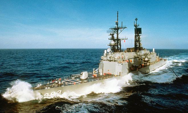 Fanpage của tàu khu trục thuộc hải quân Mỹ bị ai đó hack để stream Đế Chế, mỗi tội chơi mãi không kích được đời 1 - Ảnh 2.