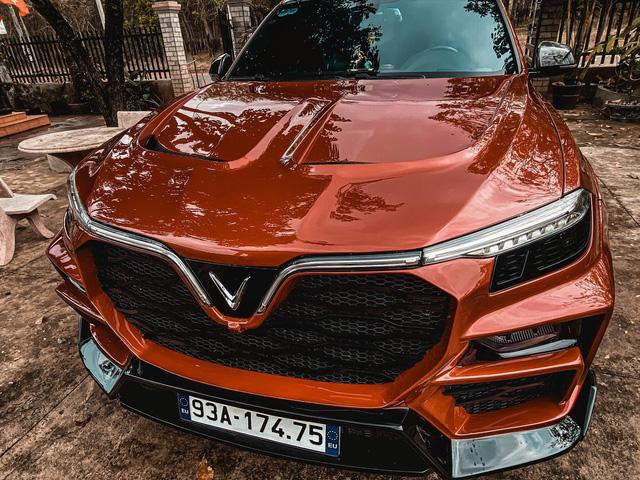 Bản độ VinFast Lux SA2.0 của thợ Việt gây sốt trên mạng xã hội: Đẹp không kém xe Đức - Ảnh 2.