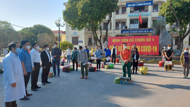 Thêm 22 bệnh nhân được công bố khỏi bệnh tại Chí Linh chiều 30 Tết - Ảnh 1.