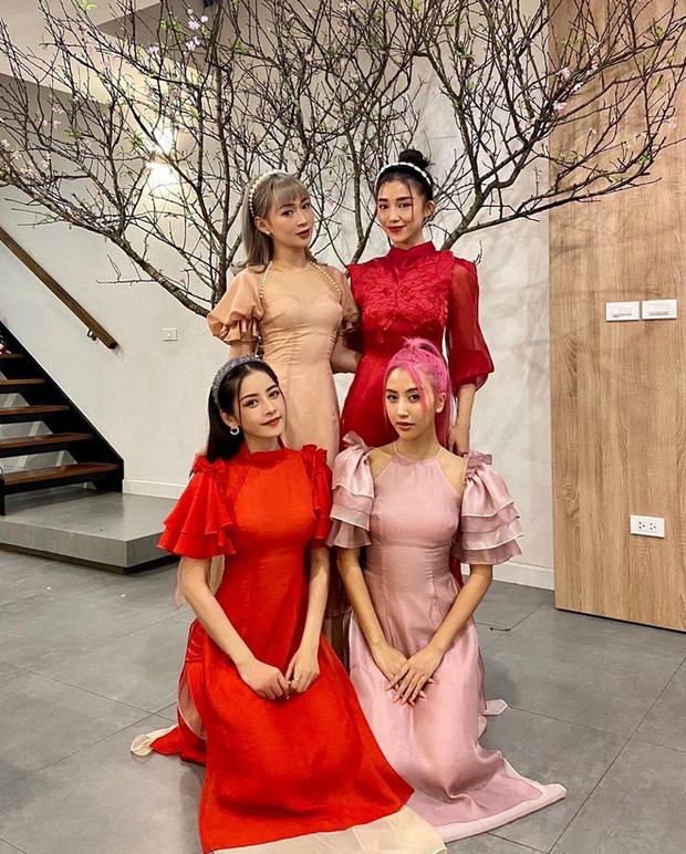Hội bạn hotgirl Hà Thành của Chi Pu mở tiệc tất niên nhưng khác hẳn mọi năm: 3 thành viên tụ họp, còn Quỳnh Anh Shyn? - Ảnh 3.