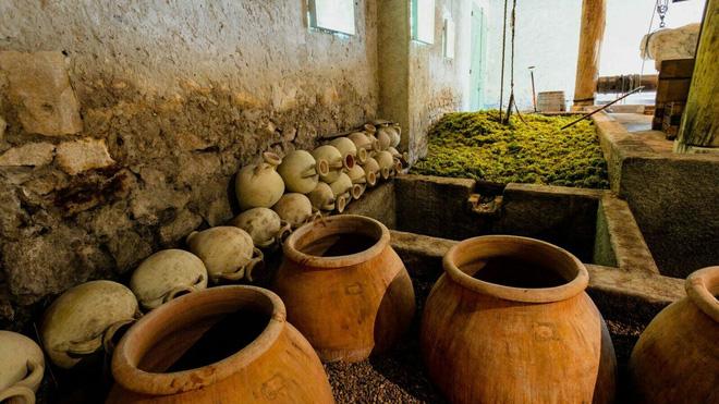 Bí quyết vàng hiếm có của nghệ nhân làm rượu vang châu Âu: Hồi sinh thức uống La Mã bằng... nước biển! - Ảnh 2.