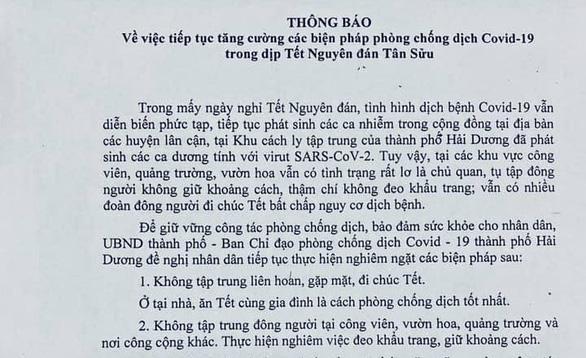 'Chưa có chứng cứ cho thấy chủng virus ở Tân Sơn Nhất lây lan nhanh'; Người dân trở lại Hà Nội sau Tết phải khai báo y tế - Ảnh 1.
