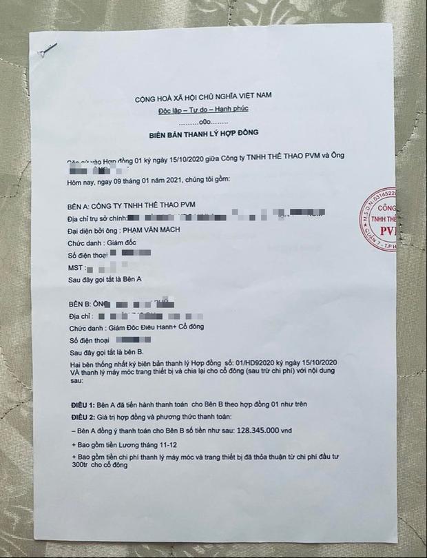 Độc quyền: Lực sĩ Phạm Văn Mách phản bác cáo buộc lừa đảo chiếm đoạt tài sản, tố ngược người bóc phốt - Ảnh 2.