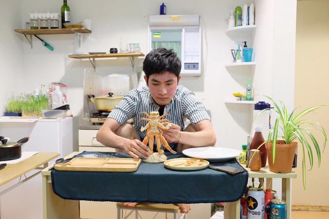 Chàng trai Việt mang di ảnh bố mẹ đi khắp nước Nhật lộ tài nấu nướng đẳng cấp: Đưa đồ ăn đơn giản lên '5 sao' - ảnh 19