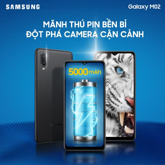 Samsung ra mắt smartphone pin 5000mAh, giá 2.39 triệu đồng - Ảnh 1.