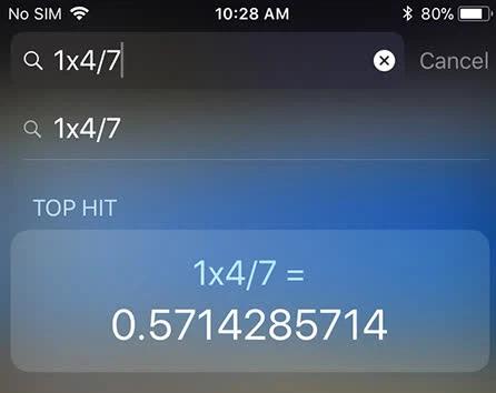 Những tính năng ẩn tuyệt vời của máy tính trên iPhone - Ảnh 2.