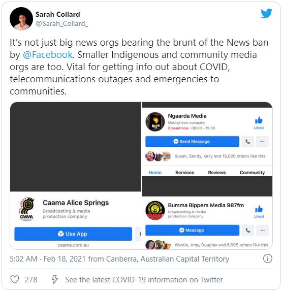 Facebook phát động chiến tranh tin tức với Úc - Ảnh 1.
