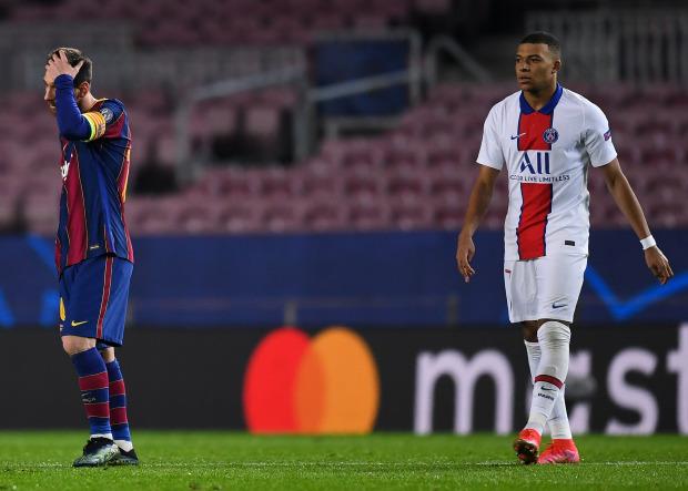 Ở cùng độ tuổi, Kylian Mbappe vượt xa Ronaldo và Messi tại Champions League - Ảnh 3.