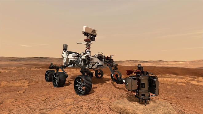 CHẠM XUỐNG! Cỗ máy 2,4 tỷ đô được trang bị tận răng của NASA thiết lập kỳ tích mới trên sao Hỏa: Phía trước là gì? - Ảnh 1.